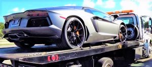 Flatbed Tow Truck - Exotic Car